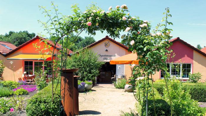 Ausflugsziel: Der Sanddorn-Garten in Petzow bei Potsdam